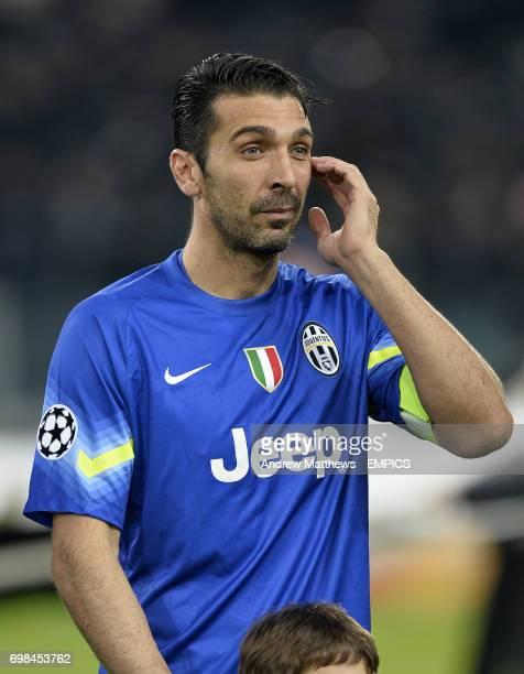 Juventus goalkeeper Gianlugi Buffon