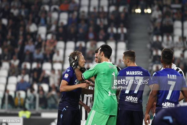 Juventus goalkeeper Gianluigi Buffon during the Serie A football match n8 JUVENTUS LAZIO on at the Allianz Stadium in Turin Italy