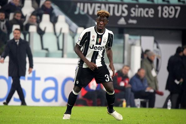 Juventus hand 16-year-old starlet Moise Kean senior debut in... : News Photo