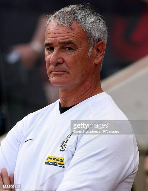 Juventus manager Claudio Ranieri during a Pre Season Friendly at the Stadium of Light Sunderland