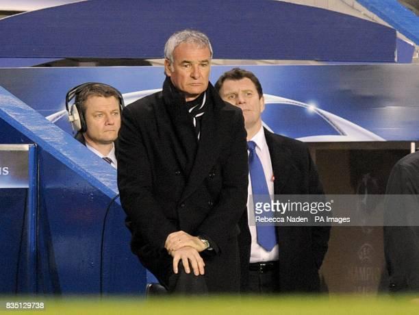 Juventus manager Claudio Ranieri