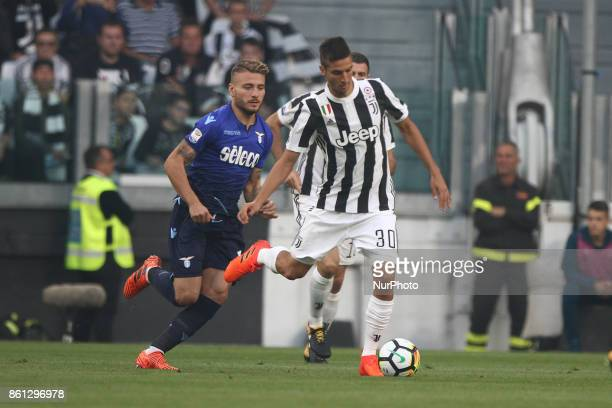 Juventus midfielder Rodrigo Bentancur in action during the Serie A football match n8 JUVENTUS LAZIO on at the Allianz Stadium in Turin Italy