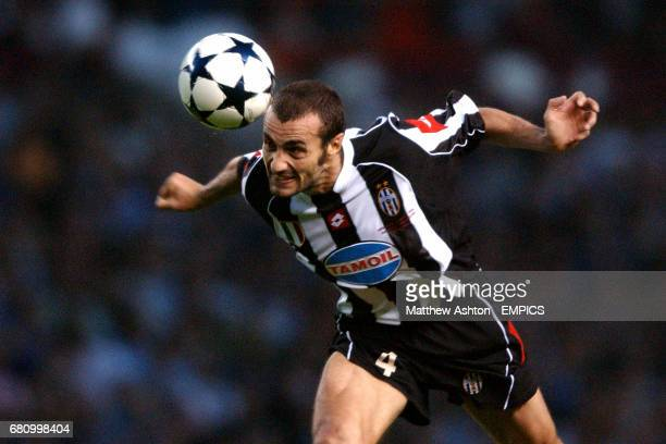 Juventus' Paolo Montero in action