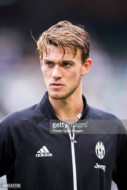 Juventus' player Daniele Rugani poses a picture before the South China vs Juventus match of the AET International Challenge Cup on 30 July 2016 at...