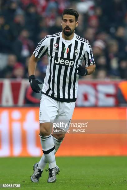 Juventus' Sami Khedira