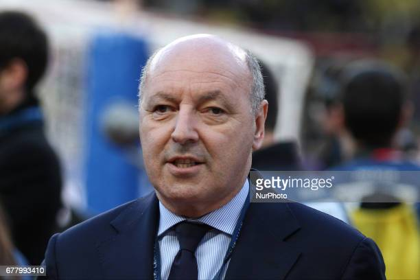 Juventus sport director Giuseppe Marotta during the Uefa Champions League semi finals football match MONACO JUVENTUS on at the Stade Louis II in...