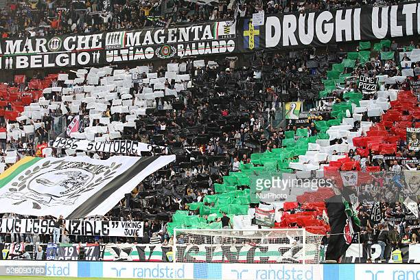 Juventus Supporters during the Serie A football match n7 JUVENTUS BOLOGNA on 04/10/15 at the Juventus Stadium in Turin Italy Copyright 2015 Matteo...