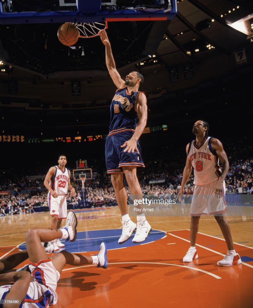 Denver Nug s v New York Knicks s and
