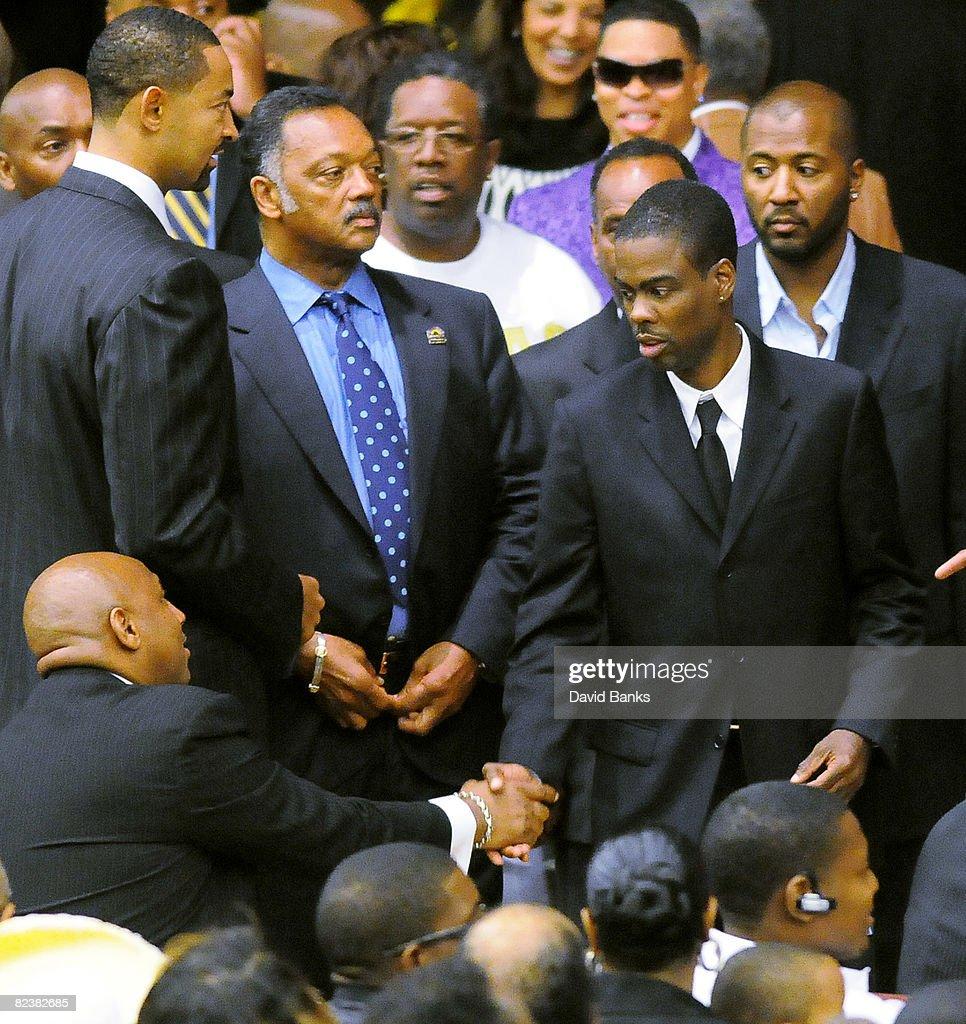 Fotos e imagens de Bernie Mac Funeral Service