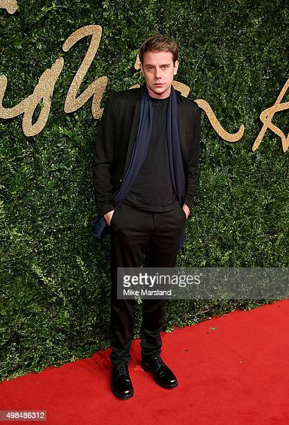 Anderson attends the British Fashion Awards 2015 at London Coliseum on November 23 2015 in London England