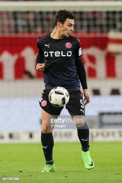 Kaan Ayhan of Fortuna Duesseldorf in action during the Second Bundesliga match between VfB Stuttgart and Fortuna Duesseldorf at MercedesBenz Arena on...