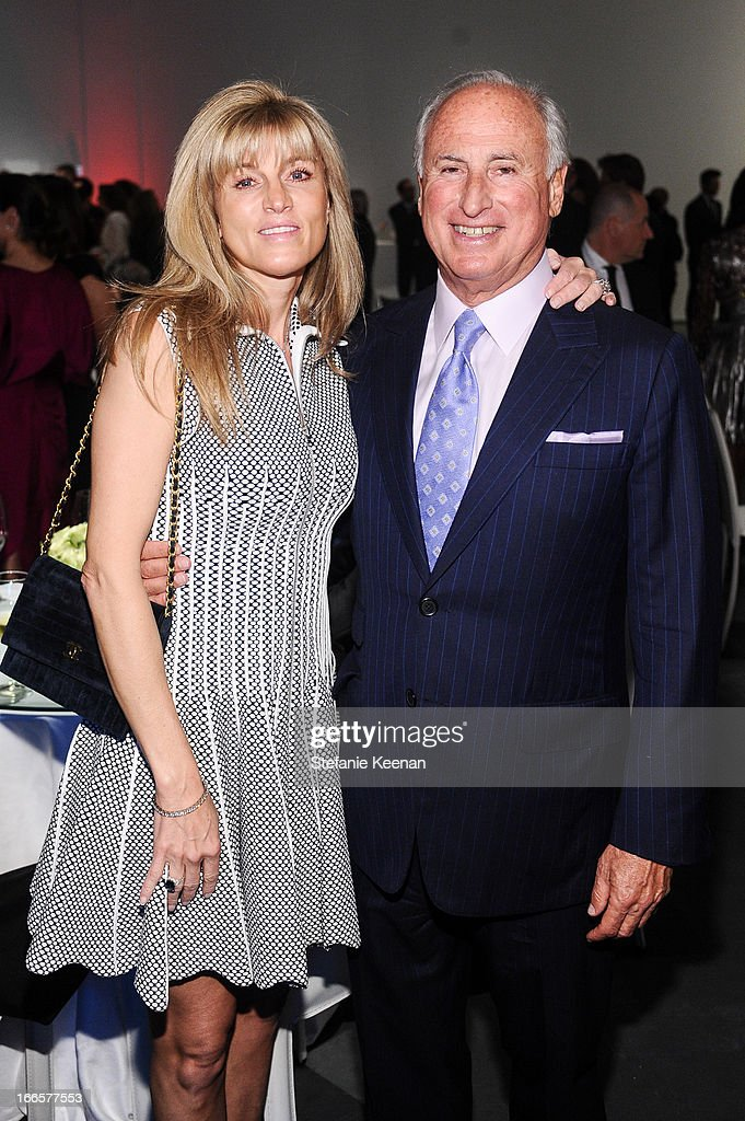 Kaayla Cevan and Steve Roth attend LACMA's 2013 Collectors Committee - Gala Dinner at LACMA on April 13, 2013 in Los Angeles, California.