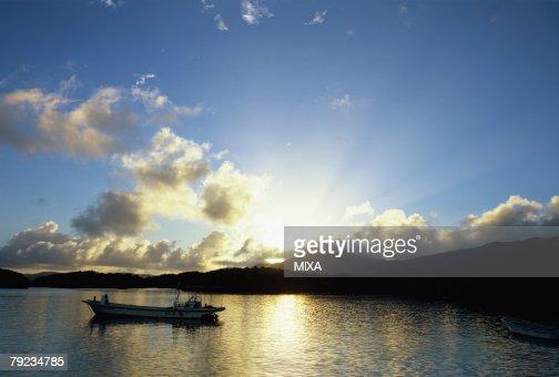 Kabira bay, Ishigaki Island, Okinawa Prefecture, Japan : Stock Photo
