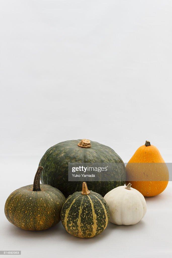 Kabocha and Pumpkins
