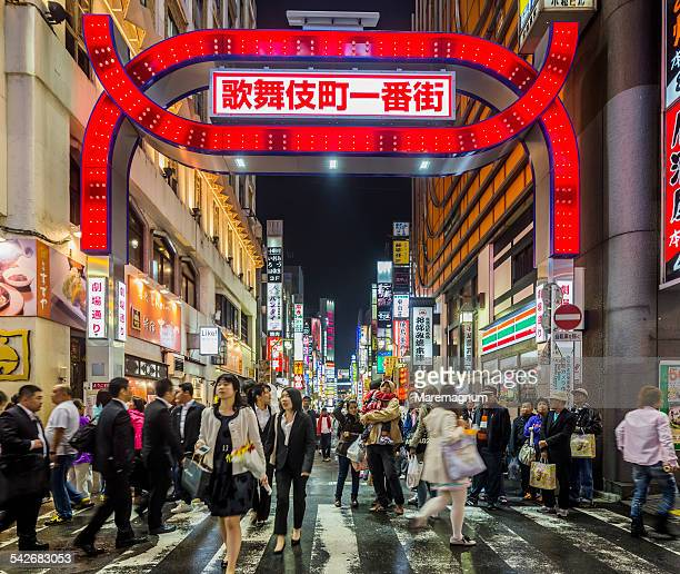 Kabukicho, the entrance gate of red light district