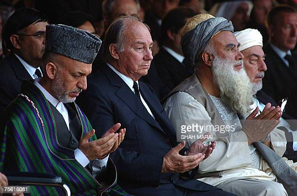 afghan president hamid karzai l the a