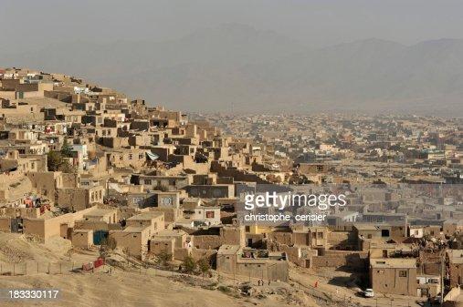 Kabul city view, Afghanistan