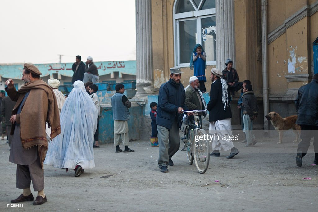 Kabul late afternoon : Stockfoto