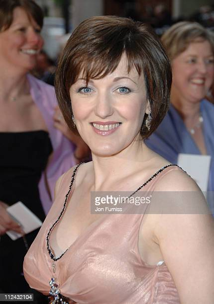 Kacey Ainsworth during The 2006 British Academy Television Awards Arrivals at Grosvenor House in London Great Britain