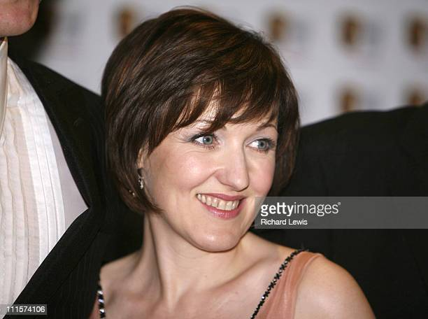 Kacey Ainsworth during The 2006 British Academy Television Awards Press Room at Grosvenor House in London Great Britain
