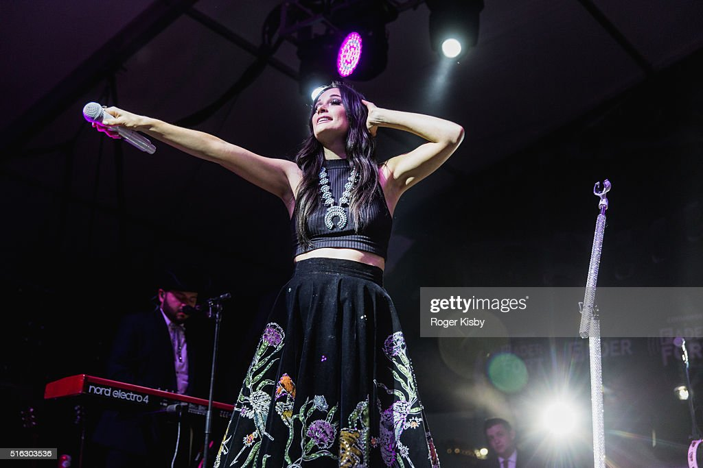 Kacey Musgraves performs onstage at the FADER FORT presented by Converse during SXSW on March 17, 2016 in Austin, Texas.