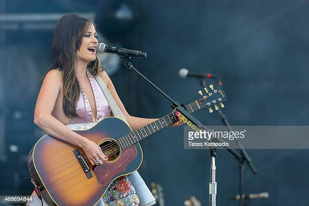 Kacey Musgraves performs onstage during the Capital One JamFest at the NCAA March Madness Music Festival Ð Day 3 at White River State Park on April 5...