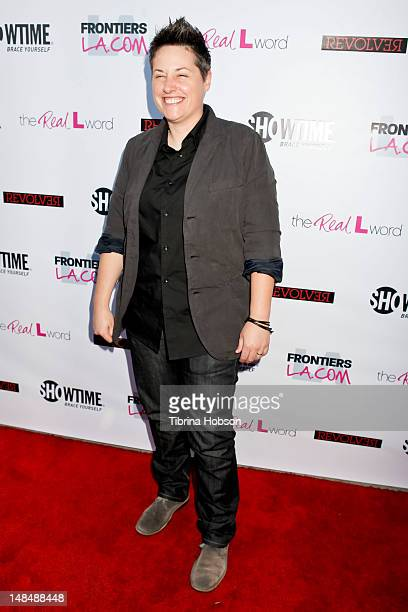 Kacy Boccumini attends the season 3 premiere of Showtime's 'The Real L Word' held at Revolver on July 17 2012 in West Hollywood California