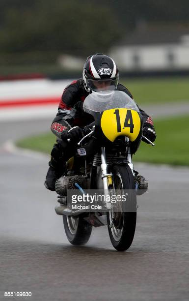 Kaczor R50S entrant BMW Group Classic ridden by Klaus Ottlinger Lother Singer in the Barry Sheene Memorial Trophy at Goodwood on September 8th 2017...