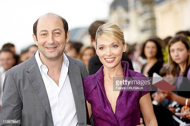 Kad Merad and Anne Marivin at the 22th Cabourg Film Festival in Cabourg France on June 14th 2008