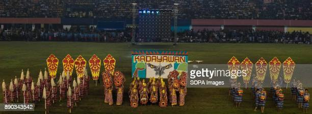 PHILIPPINES MARIKINA NCR PHILIPPINES Kadayawan Festival feature their friendly characteristics that was derived from the greeting 'Madayaw'The...
