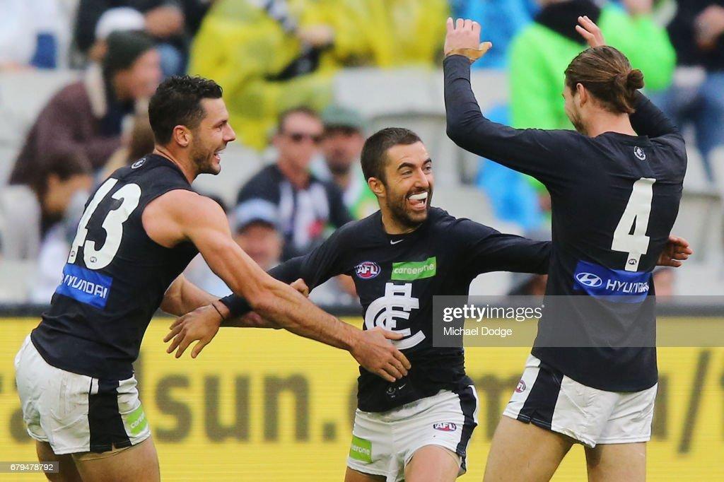 AFL Rd 7 - Collingwood v Carlton