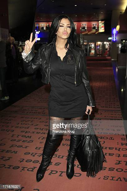 Kader Loth at the Premiere Of Sat1 event twoparter 'The Border' Cinestar in Berlin Sony Center in Berlin