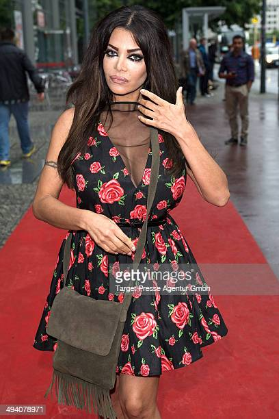 Kader Loth attends the Berlin premiere of 'love Hate Security' at Arsenal Filmhaus on May 27 2014 in Berlin Germany