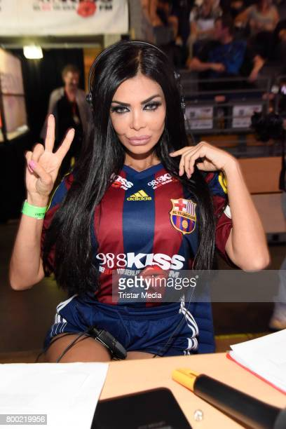 Kader Loth attends the KISS CUP 2017 at Max Schmeling Halle on June 23 2017 in Berlin Germany