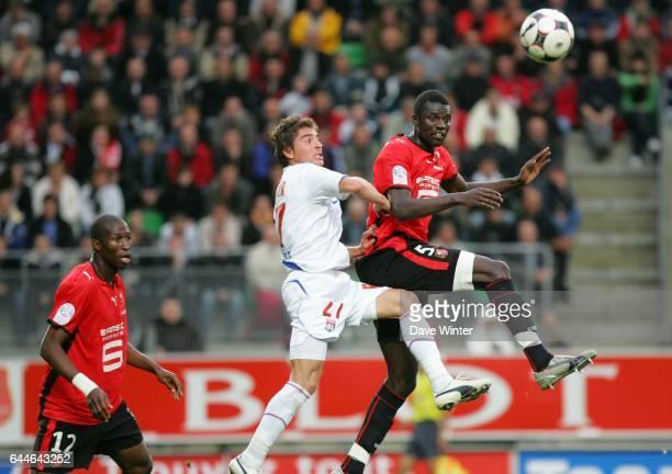 Kader MANGANE / Anthony MOUNIER Rennes / Lyon 8e journee Ligue 1 Photo Dave Winter / Icon Sport