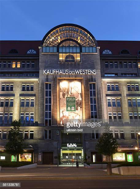 Kadewe Tauentzienstrasse Schoeneberg Berlin Deutschland / Schöneberg