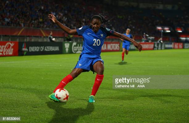 Kadidiatou Diani of France Women during the UEFA Women's Euro 2017 match between France and Iceland at Koning Willem II Stadium on July 18 2017 in...