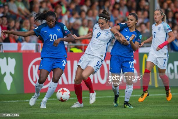 Kadidiatou Diani of France women Jodie Taylor of England women Sakina Karchaoui of France women Jordan Nobbs of England women during the UEFA WEURO...