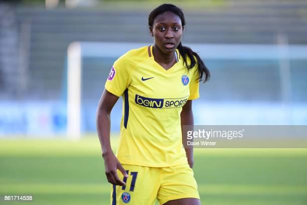 Kadidiatou Diani of PSG during the women's Division 1 match between Paris FC and Paris Saint Germain on October 15 2017 in Paris France