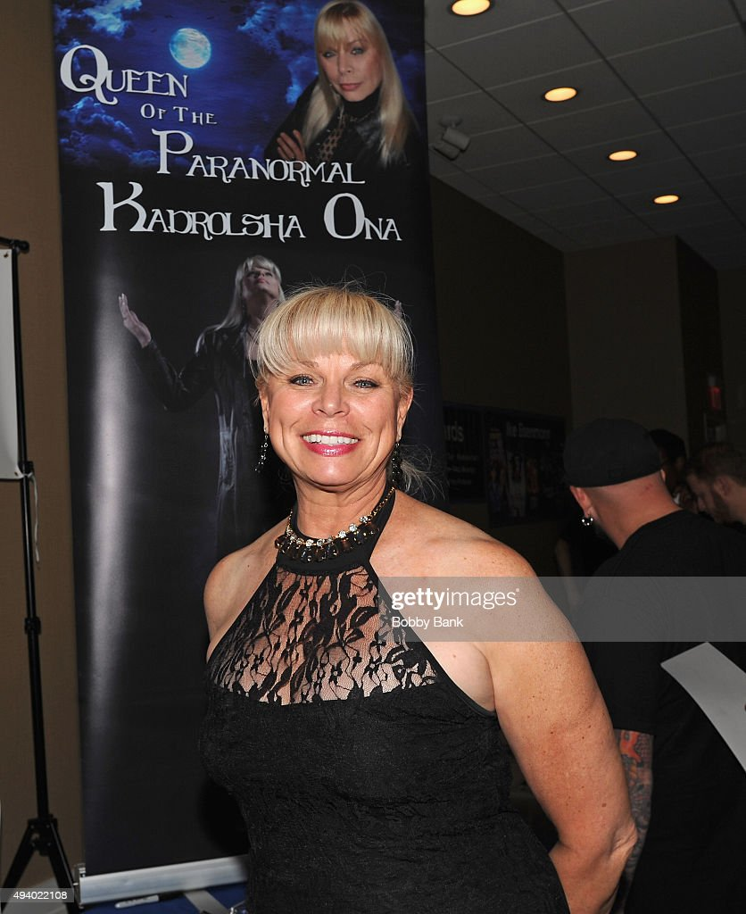 Kadrolsha Ona attends Day 1 of the Chiller Theatre Expo at Sheraton Parsippany Hotel on October 23, 2015 in Parsippany, New Jersey.