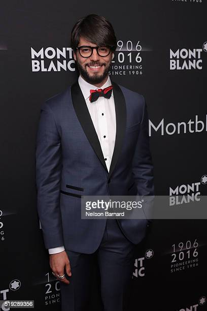 Kadu Dantas attends the Montblanc 110 Year Anniversary Gala Dinner on April 5 2016 in New York City