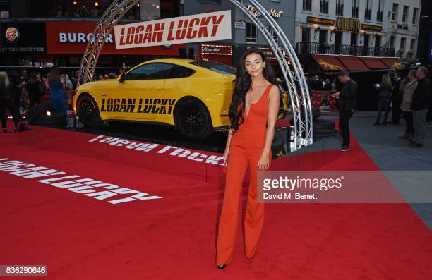 Kady McDermott attends the 'Logan Lucky' UK Premiere at Vue West End on August 21 2017 in London England