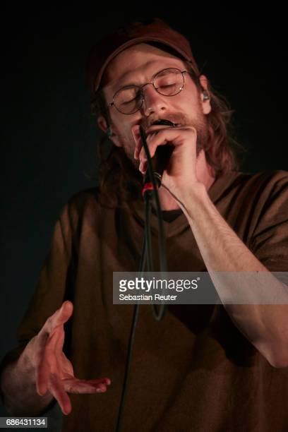 Kaeptn Peng of Kaeptn Peng und die Tentakel von Delphi performs at Columbiahalle on May 21 2017 in Berlin Germany