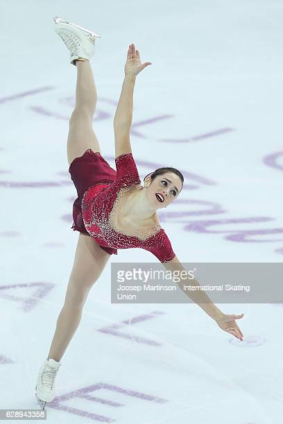 Kaetlyn Osmond of Canada competes during Senior Ladies Free Skating on day three of the ISU Junior and Senior Grand Prix of Figure Skating Final at...
