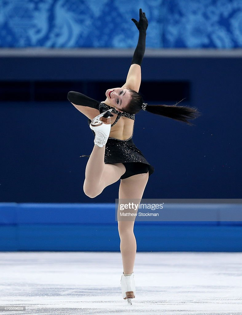 <a gi-track='captionPersonalityLinkClicked' href=/galleries/search?phrase=Kaetlyn+Osmond&family=editorial&specificpeople=9891099 ng-click='$event.stopPropagation()'>Kaetlyn Osmond</a> of Canada competes in the Figure Skating Ladies' Short Program on day 12 of the Sochi 2014 Winter Olympics at Iceberg Skating Palace on February 19, 2014 in Sochi, Russia.