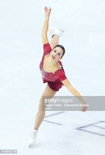 Kaetlyn Osmond of Canada competes in the Ladies Free Program during the ISU Grand Prix of Figure Skating Skate Canada International at Hershey Centre...