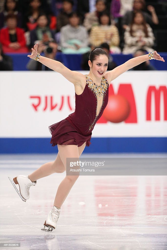<a gi-track='captionPersonalityLinkClicked' href=/galleries/search?phrase=Kaetlyn+Osmond&family=editorial&specificpeople=9891099 ng-click='$event.stopPropagation()'>Kaetlyn Osmond</a> of Canada competes in the Ladies Free Skating during ISU World Figure Skating Championships at Saitama Super Arena on March 29, 2014 in Saitama, Japan.