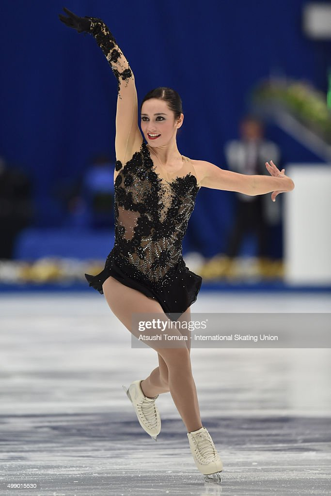 <a gi-track='captionPersonalityLinkClicked' href=/galleries/search?phrase=Kaetlyn+Osmond&family=editorial&specificpeople=9891099 ng-click='$event.stopPropagation()'>Kaetlyn Osmond</a> of Canada competes in the ladies's free skating during the day two of the NHK Trophy ISU Grand Prix of Figure Skating 2015 at the Big Hat on November 28, 2015 in Nagano, Japan.
