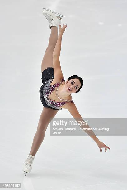 Kaetlyn Osmond of Canada competes in the ladies's short program during the day one of the NHK Trophy ISU Grand Prix of Figure Skating 2015 at the Big...