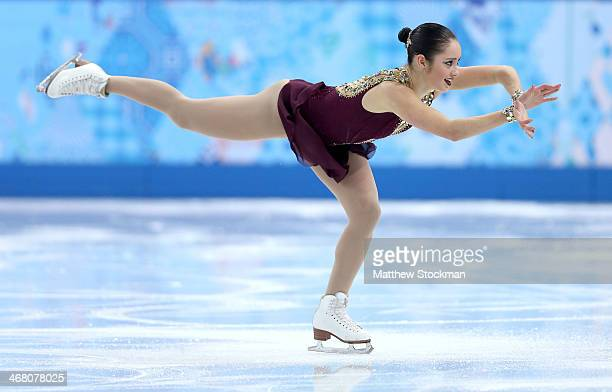 Kaetlyn Osmond of Canada competes in the Team Ladies Free Skating during day two of the Sochi 2014 Winter Olympics at Iceberg Skating Palace onon...